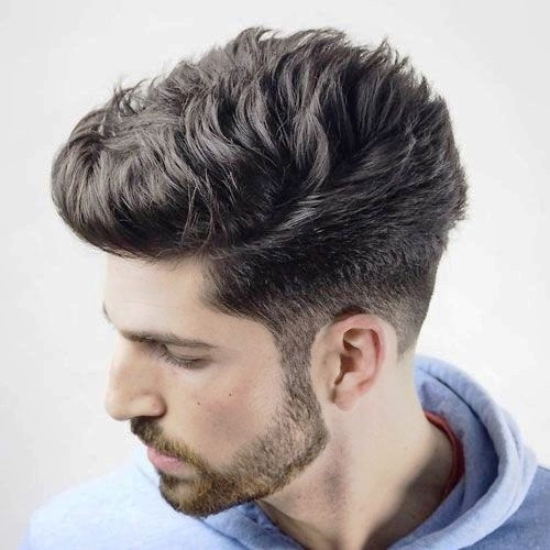 High Quiff with Low Fade