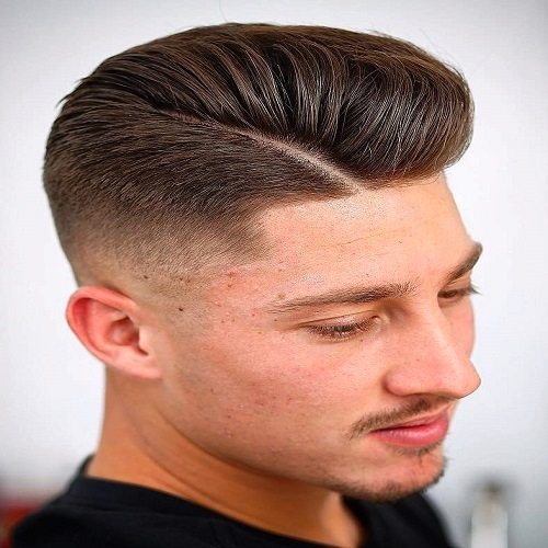 Airbrushed TaperFade Haircuts for Men