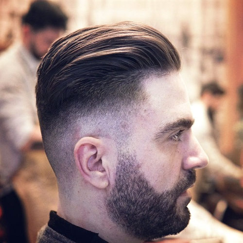 Fade and Relaxed Slick Back