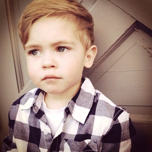 Hipster Toddler Boy Hairstyle