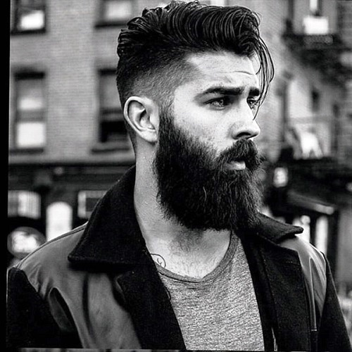 MANLY BEARD STYLE