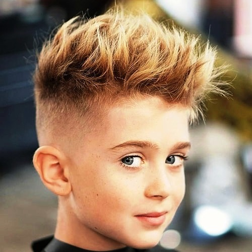Medium Length Hairstyle with Spikes