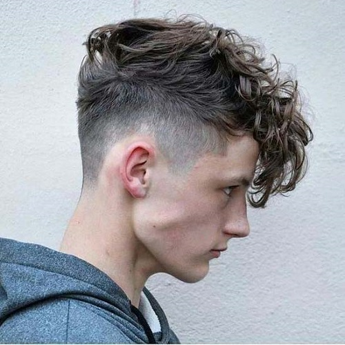 Messy Undercut Hairstyle for Men