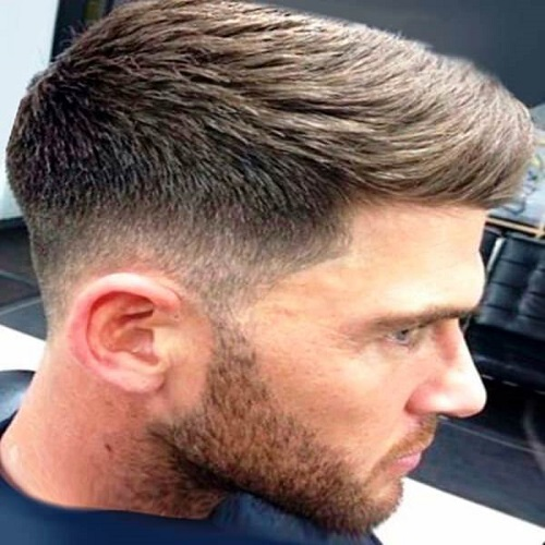 Neat and Clean Mid Fade Haircuts for Men
