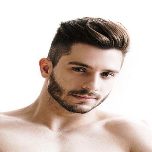 Side-swept Undercut Hairstyle for Men