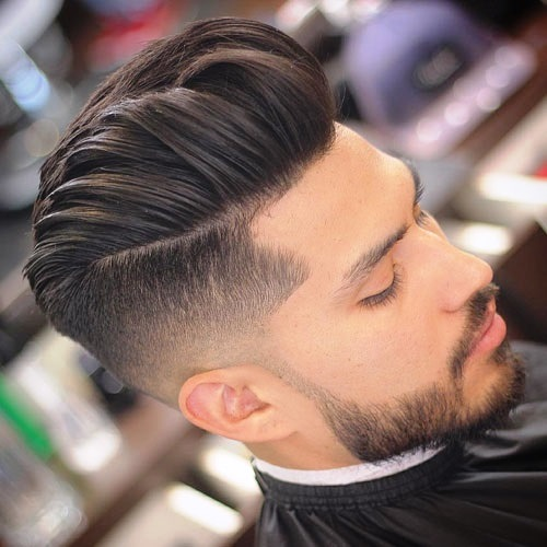 Small Undercut Hairstyle for Men with Longer Hair