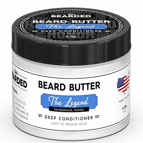 SANDALWOOD BEARD BUTTERS WITH A HINT OF VANILLA
