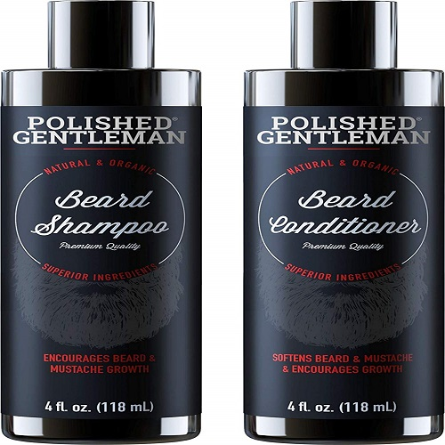 Shampoo and Conditioner Set for Growth and thickness of beard