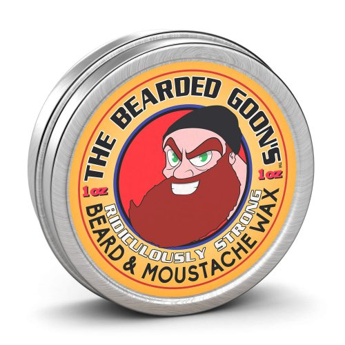 THE BEARDED GOON'S RIDICULOUSLY STRONG BEARD AND HANDLEBAR MUSTACHE WAX