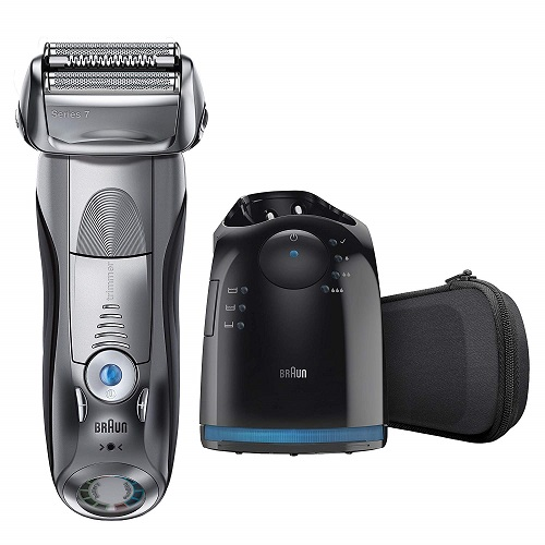 BRAUN SERIES 7 790 CC Best Electric Shaver For Sensitive Skin