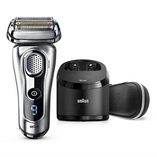 BRAUN SERIES 9 9290 CC Best Electric Shaver For Sensitive Skin