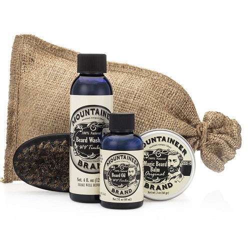 FACIAL HAIR CARE SET BY MOUNTAINEER BRAND