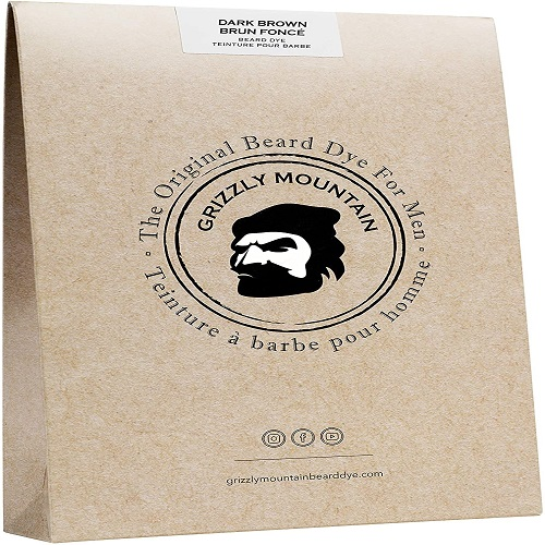 GRIZZLY MOUNTAIN ORGANIC AND ALL-NATURAL FACIAL HAIR DYE
