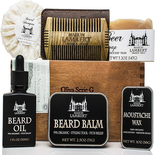 MAISON LAMBERT DELUXE FACIAL HAIR CARE SET