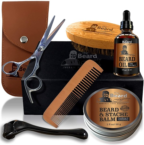 THE BEARD'S LEGACY FACIAL HAIR CARE SET