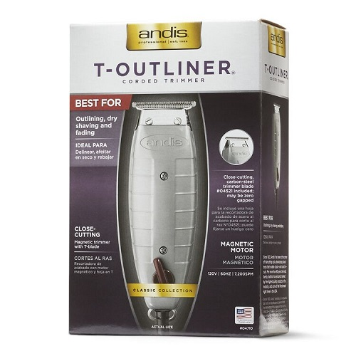 ANDIS PROFESSIONAL T-OUTLINER CLIPPERS
