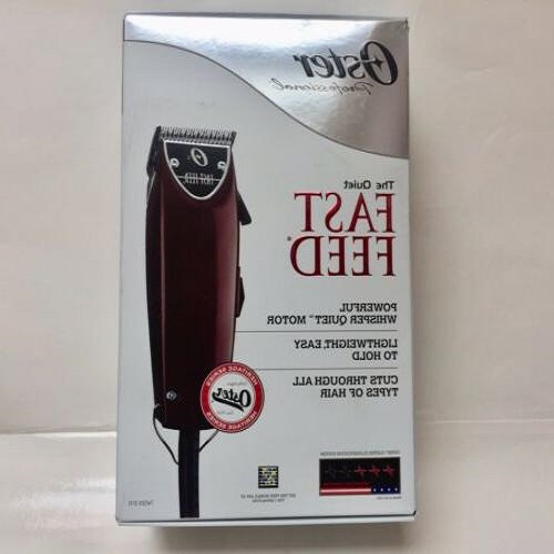 OSTER FAST FEED ADJUSTABLE PIVOT MOTOR BEST HAIR CLIPPERS FOR FADES 76023-510