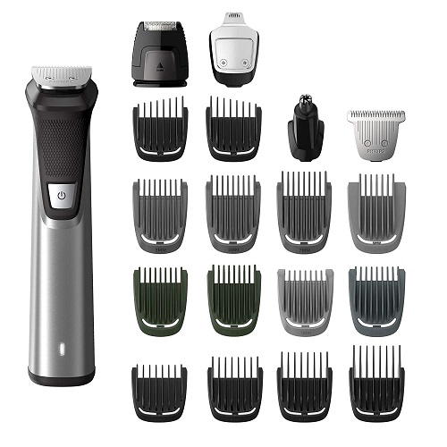 PHILIPS NORELCO MULTIGROOM MG7750 BEST TRIMMERS FOR BLACK HAIR