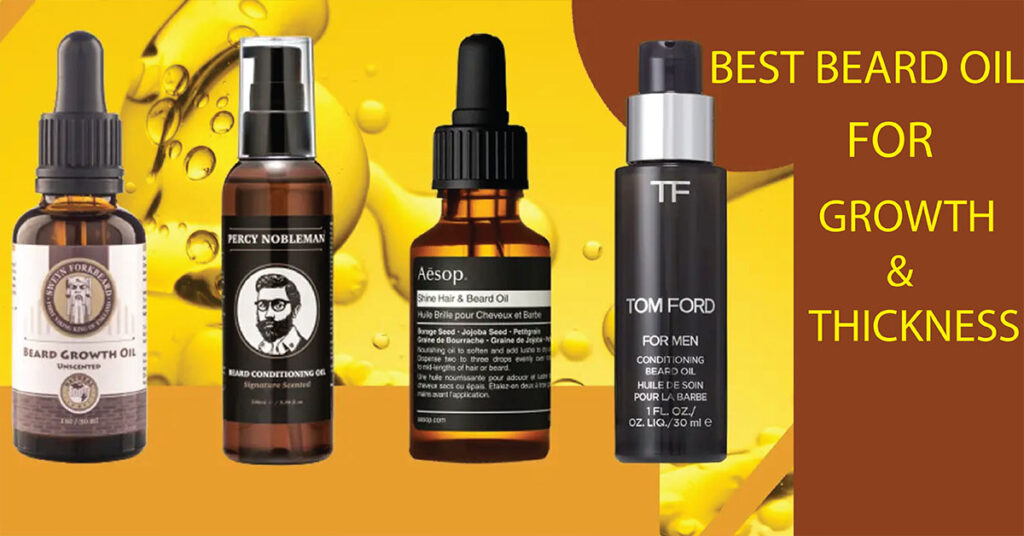 BEARD OIL FOR GROWTH AND THICKNESS
